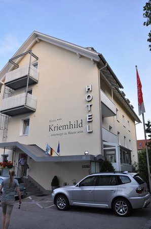 Hotel Kriemhild: Main Entrance