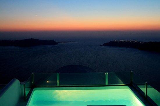 Heliotopos Hotel: tramonto