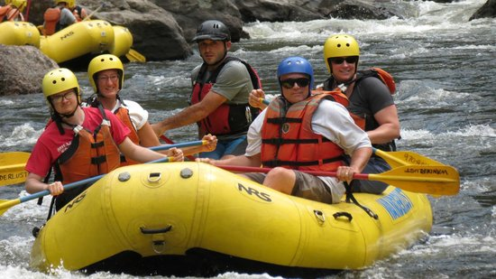 A Wanderlust Adventure : Heading for the rapids!