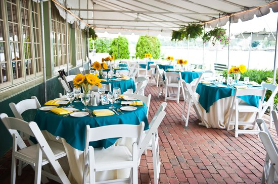 Bayard House Restaurant: Our wedding reception 1