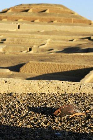 Cahuachi: restos arqueológicos