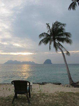Koh Ngai Resort : Sunrise at Koh Ngai