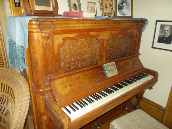 Montauk Historical Site: One of two original pianos