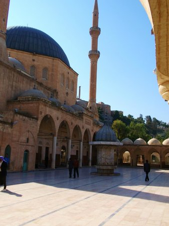 Sanliurfa, Turkije: The Mosque