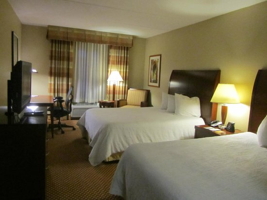 Hilton Garden Inn Bangor: 2 queen beds