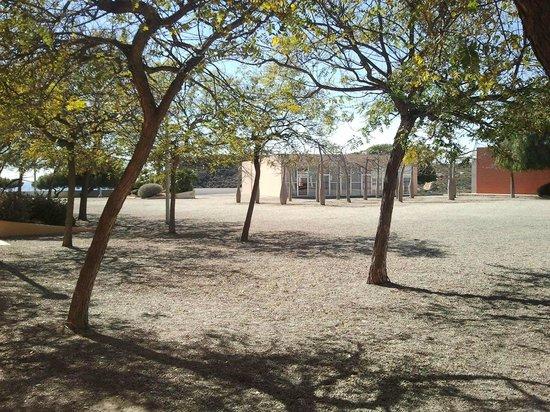 Albergue Juvenil Calarreona: Exteriores del albergue