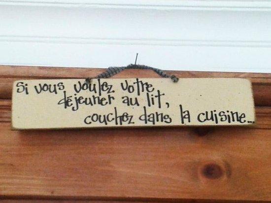 Auberge Racine (La maison Bosse) : J'adore !!