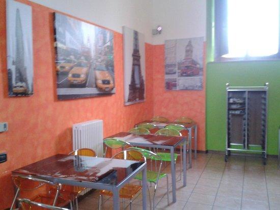 Ostello AIG Mario Spagnoli: Sala colazione
