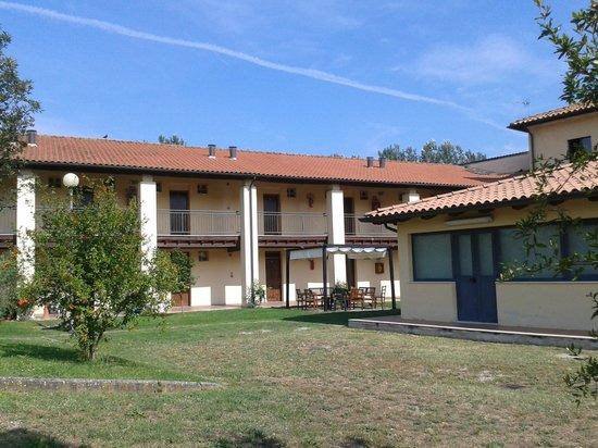 Ostello AIG Mario Spagnoli: Un'ala che ospita le stanze