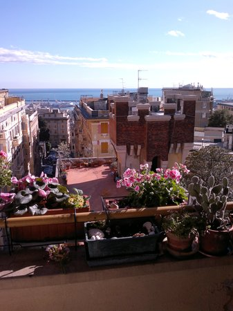 Maya E Leo: il panorama dal balcone, balcony view