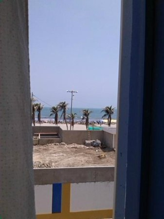 Hotel Pueblito Playa: Economico pero buena vista.