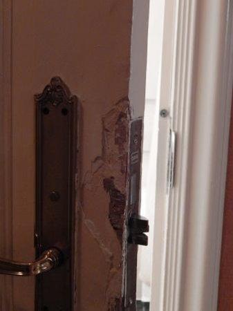 This Bathroom Door Has Seen Better Days Replace It Picture