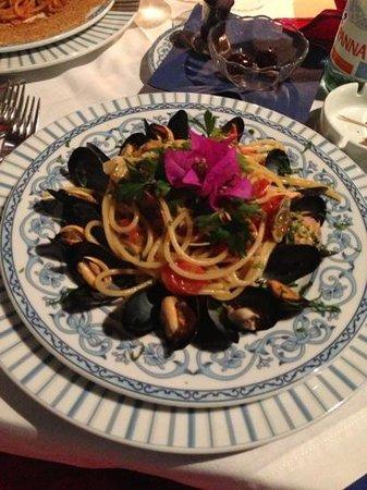 Ristorante Punta Lena: spaghetti allo scoglio