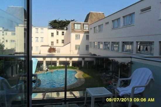 Apollo Hotel: Room view..