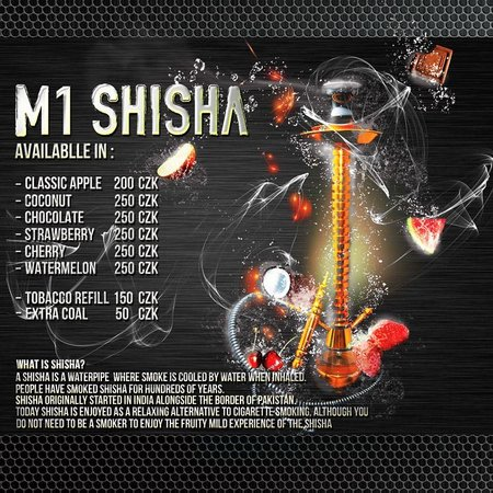 M1 Lounge Bar & Club : Lets have a Shisha?