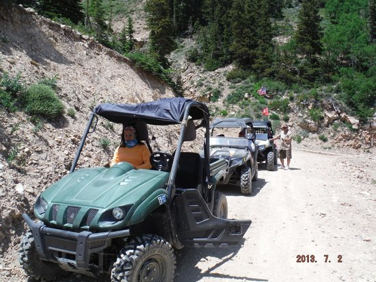 Big Rock Candy Mountain Resort: Great trail rides