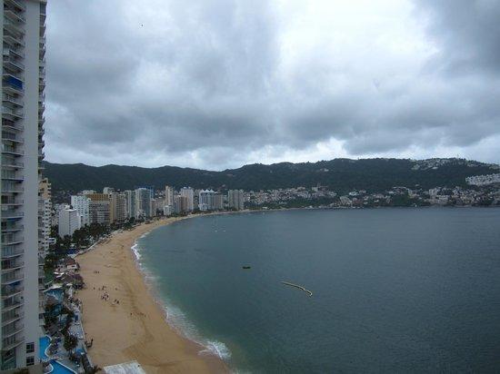 El Presidente Acapulco: Vista desde la habitación
