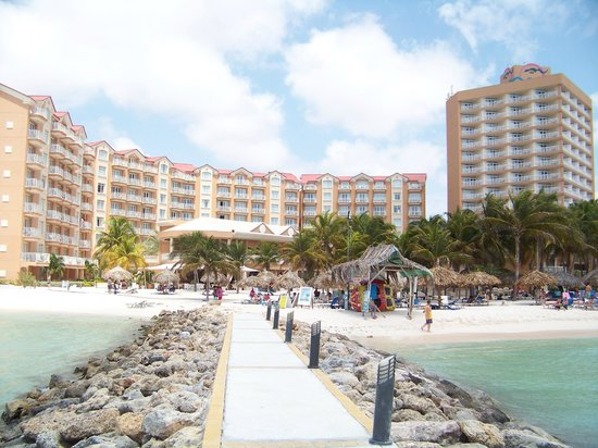 Beach area picture of divi aruba phoenix beach resort - Divi beach aruba ...