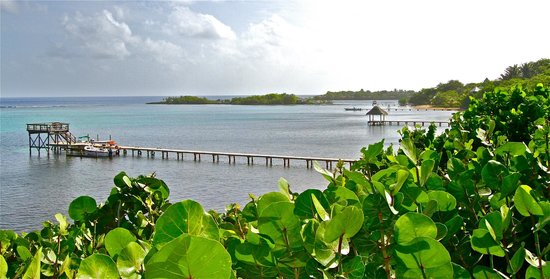Mayoka Boutique Hotel: View from the decking area