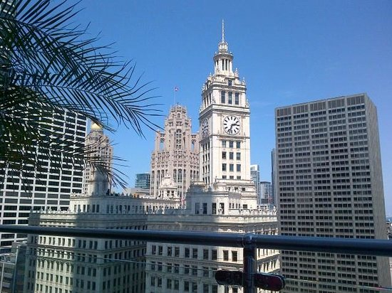 Trump International Hotel & Tower Chicago: Terrace view