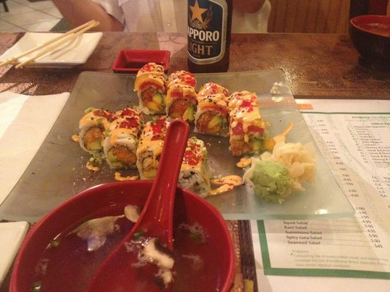 Fancy Q Sushi Bar & Grill: Some of our specialty ROLLS!