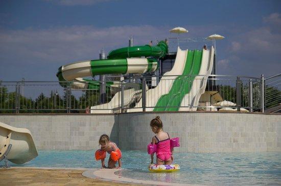 Camping Lido: aqua park