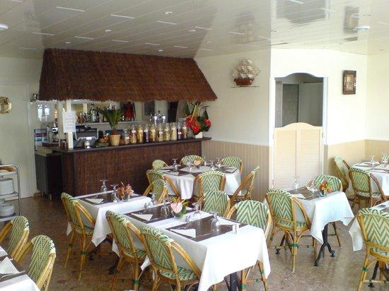 L'ile aux Cocos: salle restaurant