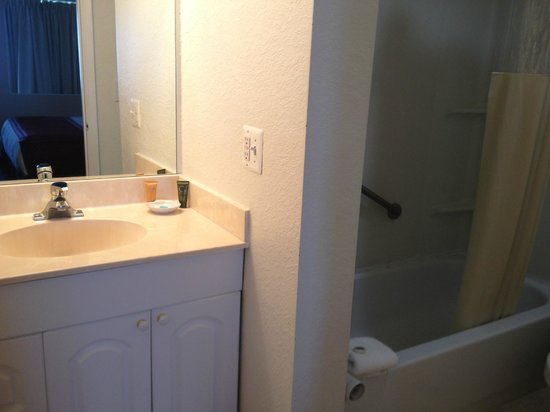 Boca Raton Plaza Hotel and Suites: bathroom
