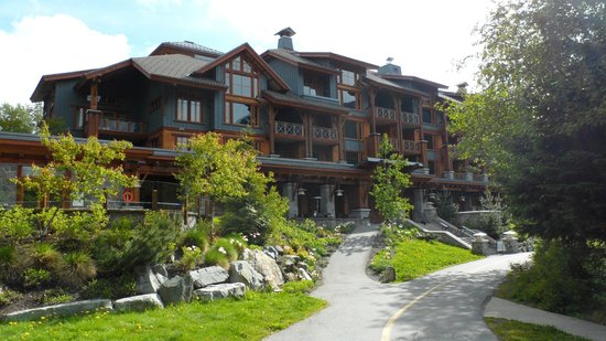 Front view of Nita Lake Lodge
