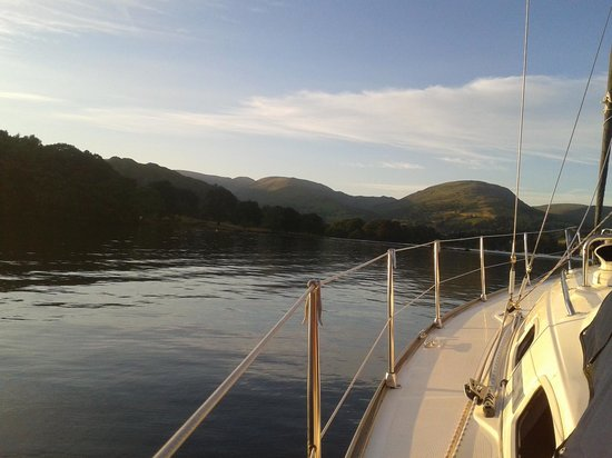 Bowness-on-Windermere, UK: Start of our trip