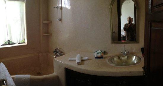 Riad Chergui: Nice big shower/tub
