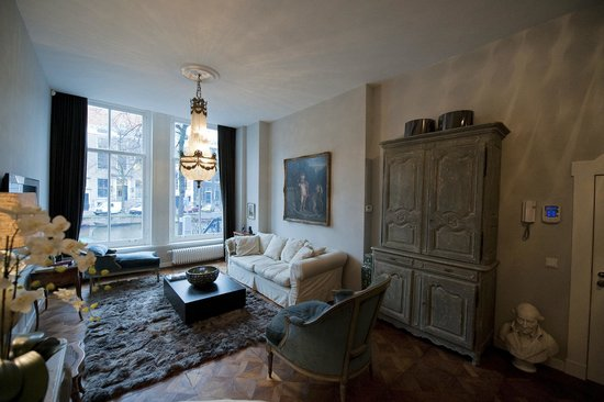 Keizersgracht Residence: Presidential Canal Suite - Living Room