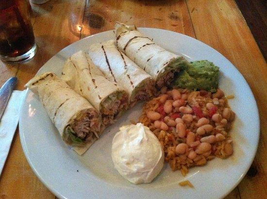 Boatyard Bar & Grill : chicken tacos- outstanding