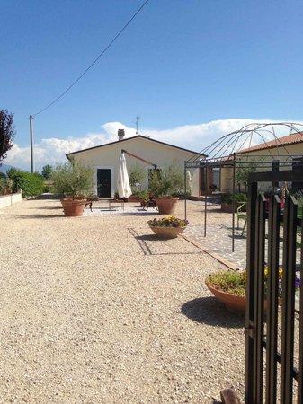 Terra Dei Santi Country House : Il cortile