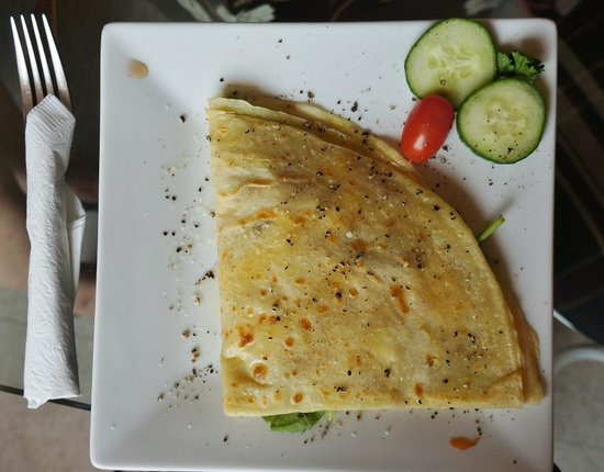 Cafe Creperie : Chicken crepe
