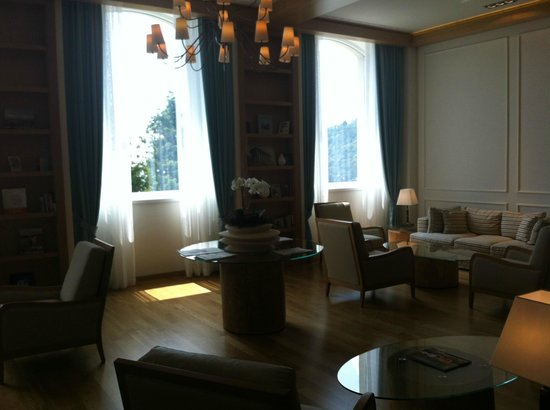 Kurhaus Cademario Hotel & Spa: Lounge