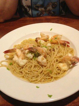 Blackstone Pub & Grill: Shrimp Scampi
