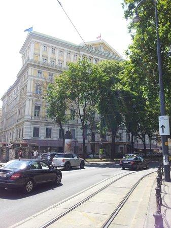 Hotel Imperial Vienna: Fassade