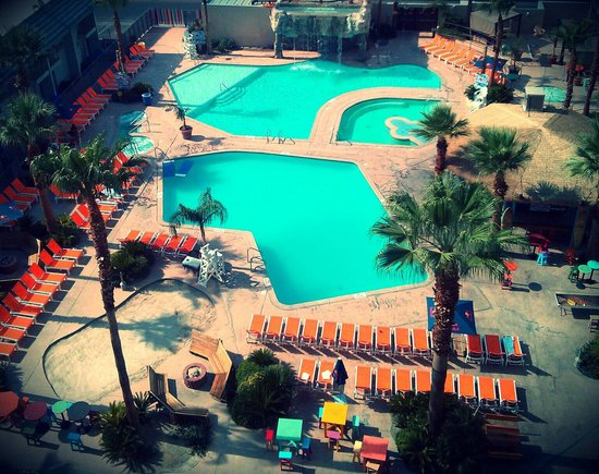 Awesome Pool Area Picture Of Hooters Casino Hotel Las
