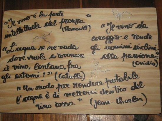 Borgo Tassone: Citazioni