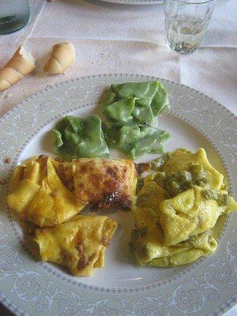 Borgo Tassone: Quadris di primi