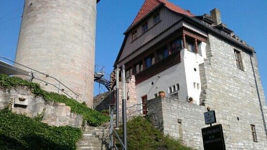 Treffurt, Tyskland: Burg aussen