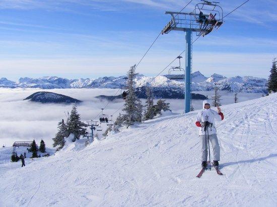 Mount Washington Alpine Resort: Cold day