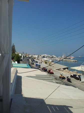 Alexandra's Rooms: View towards the harbour