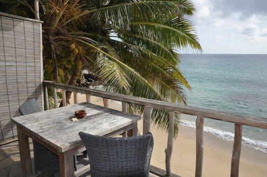 Bliss Hotel Seychelles: Zimmeraussicht Nr. 6