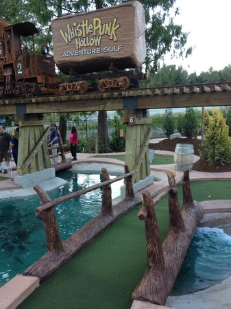 Whistle Punk Hollow Adventure Golf