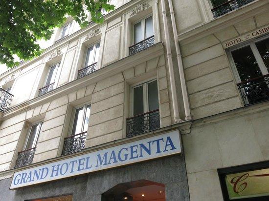 Grand Hotel Magenta : frontdoor
