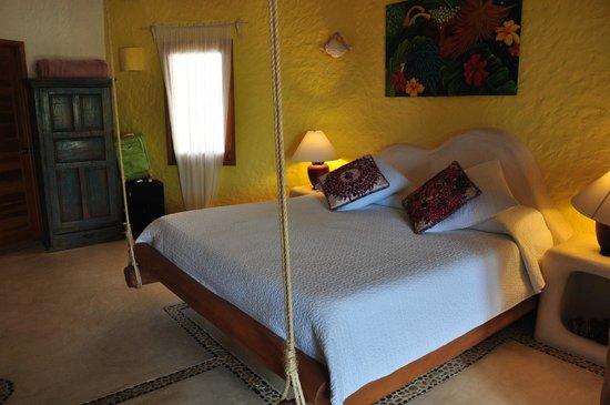Holbox Hotel Casa las Tortugas - Petit Beach Hotel & Spa: Camas comodas