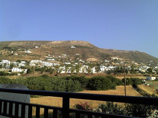 Alexandros apartments: Vue terrasse