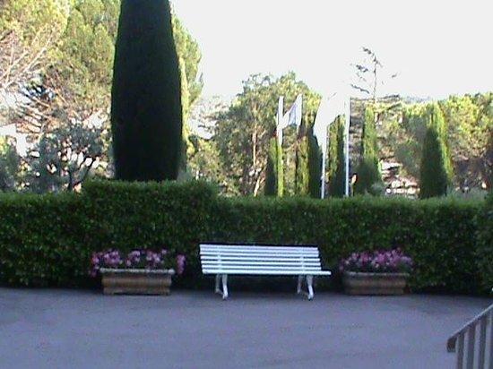 Le Verdon : Pour se reposer (parc de l' hôtel)